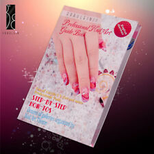 Fräulein3°8 Nail Art 3D UV Gel Acrylic Nails Guide Book Painting Glitter Design