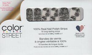 Color Street Nail Strips Flower Power Overlay 100% Nail Polish - USA Made!