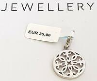 GOOIX Silber 925 Damen Charm Charms Anhänger NEU Mandala Blume silber 201