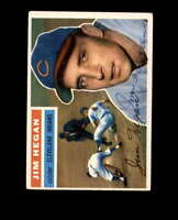 Jim Hegan Hand Signed 1956 Topps Cleveland Indians Autograph