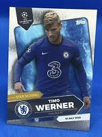TOPPS ON DEMAND SUMMER SIGNINGS SET TIMO WERNER CHELSEA