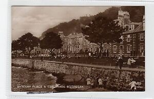BATTERY PLACE & ESPLANADE, ROTHESAY: Isle of Bute postcard (C28090)