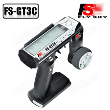 FLYSKY FS-GT3C 3CH 2.4GHz LCD Remote Control Transmitter Receiver for RC Car