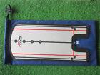 A99 Golf Putting Mirror I Training Alignment Aid w Blue Pouch Bag