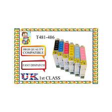 12 Cartuchos de tinta EPSON STYLUS PHOTO R200 R220 R300 R320 RX500 Originales