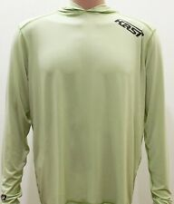 Kast Extreme Fishing Gear Ronin Hooded Sun Shirt Sage Green Size XL NWT