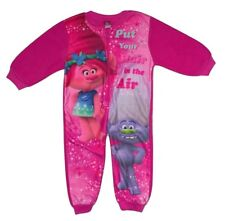 DreamWorks Trolls Kinder Fleece Overall/Hausanzug Größe 98/104