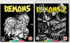 Demons 1 + Demons 2 One Two New Region B Blu-ray