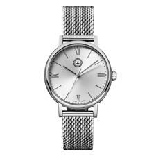 "MERCEDES BENZ Original Reloj de pulsera mujer ""CLASSIC PLATA "" nuevo emb. orig."