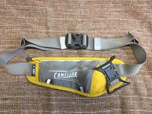 Camelbak Arc 1 Running Hydration Belt Yellow Gray NO BOTTLE Belt Only