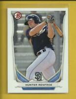 Hunter Renfroe RC 2014 Bowman Draft Prospects Rookie Card # TP-32 Padres MLB