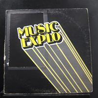 No Artist - Production Music Beds LP VG ME-002 Music Explo 1982 Vinyl Record