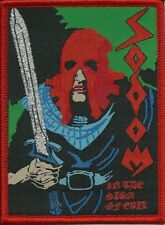SODOM-IN THE SIGN OF EVIL-WOVEN PATCH-THRASH METAL