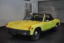 Porsche 914 ★ Klimaanlage ★ Chrom-Modell aus 1972 ★ Targa/Cabrio-Oldtimer