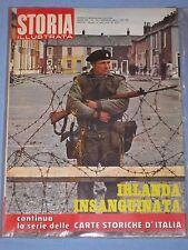 STORIA ILLUSTRATA -  n° 170 Gennaio 1972 - Irlanda insanguinata (N1)