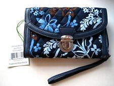 VERA BRADLEY Ultimate Wristlet JAVA FLORAL RTL $54 NWT **Free Shipping**