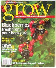 New listing Blackberries Grow Fine Gardening Magazine's Guide to Vegetable Gardening