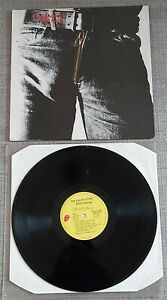 ROLLING STONES-STICKY FINGERS-DUTCH RE-ISSUE LP ON ROLLING STONES/CBS-1972