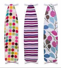 "Sunbeam New 15"" x 54"" Ironing Iron 100% Cotton Board Cover Circle - Ib10404"