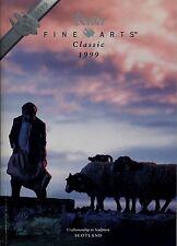 BORDER FINE ARTS 1999 CATALOG, 25th ANNIV., FARMYARD SCENES, SCOTLAND, ENESCO