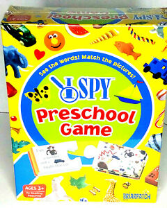New I Spy Preschool Game/ See the Words! Match the Pictures!  Ages 3+