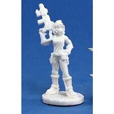 RPG Miniatures Reaper Minis Chronoscope Bones: Rosie, Chronotechnician