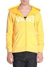 VANS unisex yellow hoodie hooded sweatshirt pullover felpa uomo donna M BNWT