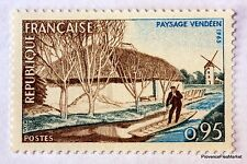 FRANCE PAYSAGE VENDEEN   1965 TIMBRE N° 1439  NEUF ** LUXE GOMME D'ORIGINE  B4