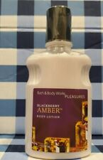 BLACKBERRY AMBER Body Lotion 8oz Bath & Body Works Pleasures