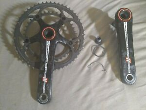 Campagnolo Super Record 11 Speed Titanium Crankset  53/39 172.5mm