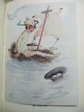 J M Barrie's Peter Pan and Wendy pictured by Mabel Lucie Attwell - RARE with DJ