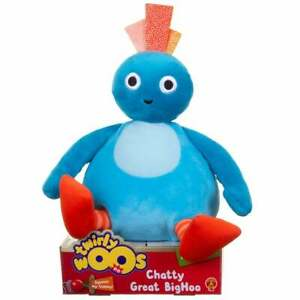 Twirlywoos - Chatty Talking Twirlywoos - Blue Great BigHoo with Sounds & Phrases