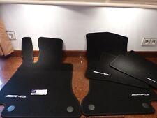 Original AMG felpudos mercedes clase c w205 s205 Limousine negro combinado