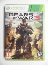 jeu GEARS OF WAR 3 sur xbox 360 en francais game spiel juego gioco COMPLET - TBE