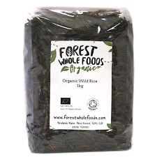 Organic Wild Rice 500g ( UK Postage)