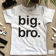 boys big bro shirt, big brother t shirt, big brother announcement shirt