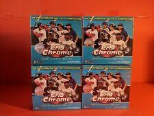 Topps Chrome 2020 Update Baseball Mega Box - Blue