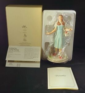 """NIB """"Dorothy & TOTO""""  Retired  The Wizard of Oz Collection, by Lenox MINT!!!"""