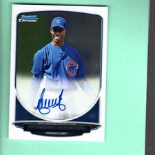 2013 Bowman Chrome Prospects ARISMENDY ALCANTARA Auto #BCA-AAL CHICAGO CUBS