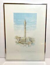 Murray Zanoni The British Telecom Tower Australian Artist Limited Edition Signed