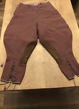 VINTAGE RIDING JODPHERS EX CONDITION.  1940  WW2 TROUSERS,HOME FRONT,LAND ARMY.