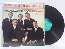 Blackwood Brothers Quartet Do You Thank The Lord Each Day vinyl Lp mono 1965