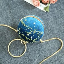 Womens New Shoulder Bag Ball Bag Planet Bag Chain Handbag Cool Fashion Version