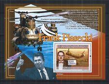 GUINEA 2008 BLOCK 1587 ** HELICOPTER FRANK PIASECKI REAGAN USA