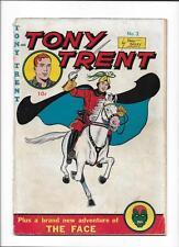 TONY TRENT #3 [1948 GD-] 'THE FACE' APP by MART BAILEY