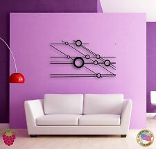 Wall Stickers Vinyl  Abstract Modern Hollywood Style Cool Decor  z1536