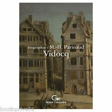 LIVRE /BIOGRAPHIE neuf - Vidocq - Marie-helene parinaud - Grands caractères