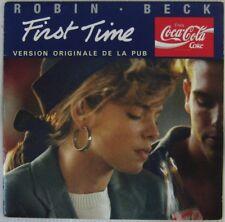Coca-Cola 45 Tours Robin Beck 1988