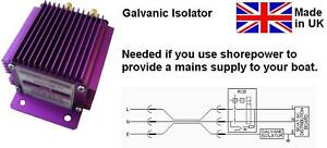 GALVANIC ISOLATOR 115V AC / 230V AC, 50A CONTINUOUS, Made in UK, Model E936
