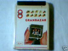 MATIA BAZAR Granbazar Gran bazar stereo 8 SIGILLATA RARISSIMA SEALED VERY RARE